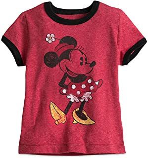 3b1a8354d Disney Minnie Mouse Classic Ringer Tee for Girls