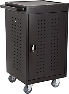 Structure Series 30-Device Tablet Charging Cart w/Electric- Unassembled