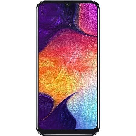"""Samsung Galaxy A50 SM-A505G 64GB 4GB RAM 25 MP 6.4"""" Factory Unlocked- Black (Renewed)"""