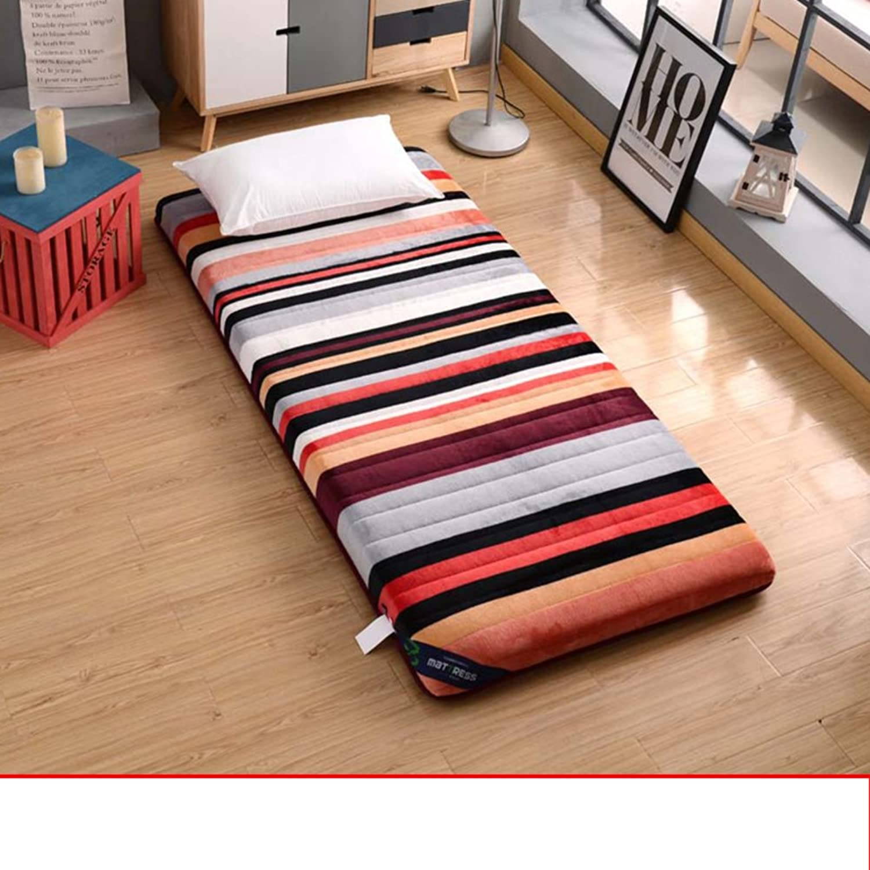 Mattress Student Dormitory Tatami Mattress Thickening Double mat-B 90x200cm(35x79inch)