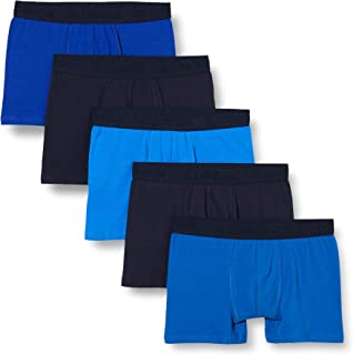 FM London 5-Pack Men's Boxers with HyFresh Odour Protection Technology | Tagless, Super Soft, 24hr Boxer Shorts