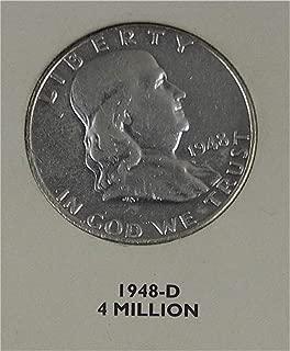 1949 D Franklin Half Dollar Very Good
