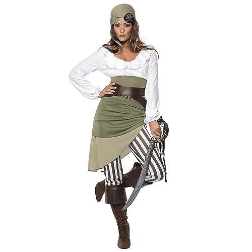 Womans Pirate Costume Amazon Co Uk
