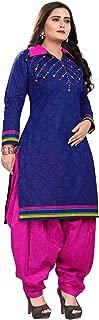 SAKSHI V8 Women Printed Ethnic/Party/Casual Wear Suit Salwar Dress With Dupatta - (Multi)