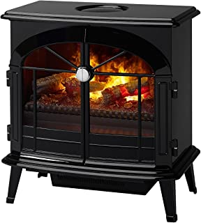 DIMPLEX Stockbridge Electric Fireplace, Gloss Black