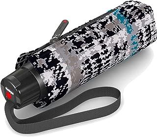Ouverture//Fermeture Automatique Parapluie de Poche Doppler Fiber Magic Uni Tr/ès l/éger gr/âce /à la Fibre de Verre Navy