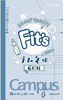 ロッテ Fit'sキャンパスノート(ラムネ味) ×10個