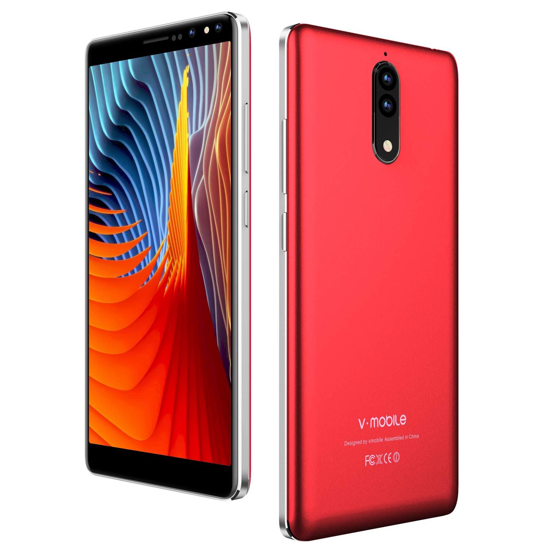 "Smartphone Libres 5.5"" HD 18:9 Pantalla Completa Dual SIM 4G ..."