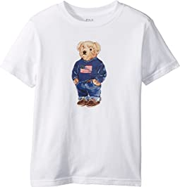 Polo Ralph Lauren Kids - Polo Bear Cotton T-Shirt (Little Kids/Big Kids)