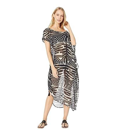 Show Me Your Mumu Marina Maxi Cover-Up Dress (Zebra King) Women
