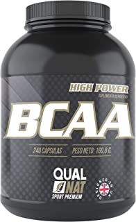 BCAA con Vitaminas B2 B6   Aumenta Masa Muscular y Quema Grasas   Suplemento Deportivo 100% Natural   240 Cápsulas