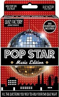 50 Card 250 Question Pop Trivia Quiz Game