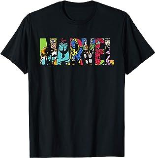 Marvel Logo Avengers Pop Art T-Shirt