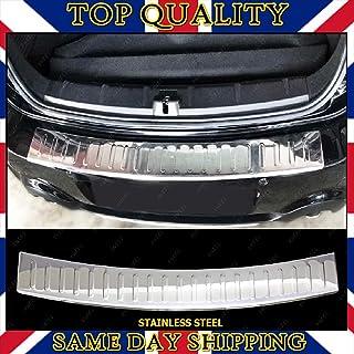 Protezione paraurti in acciaio inox spazzolato cromato con smussatura per Countryman R60 2010-2017.