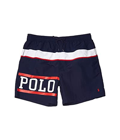 Polo Ralph Lauren Big & Tall Big Tall Traveler Swim Shorts (Nautical Polo) Men