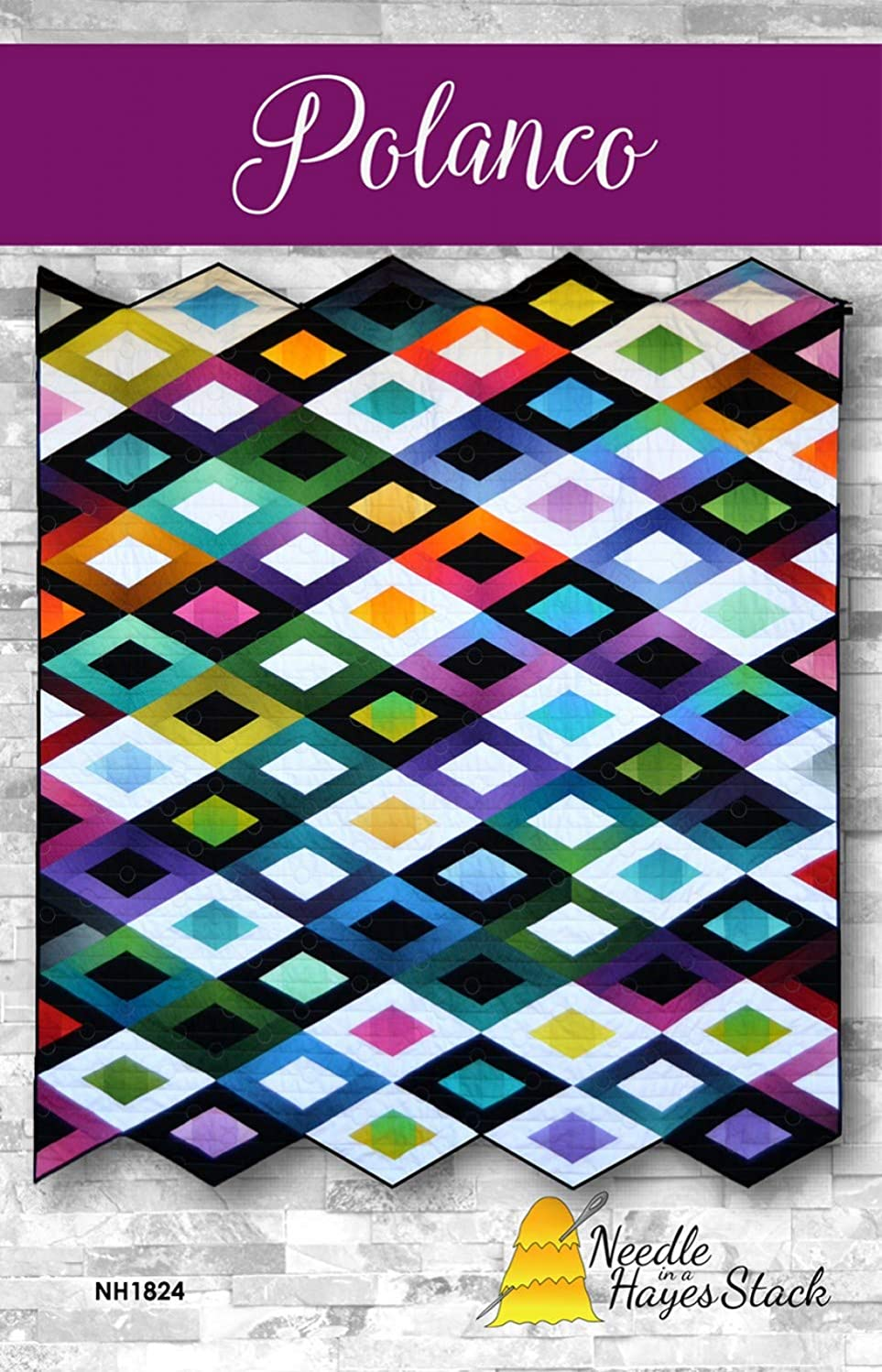 Quilt Pattern Polanco from Needle in A Hayes Stack