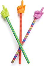 Learning Resources Patterned Hand Pointers, Classroom Helper, Assorted Colors, Set of 3, Ages 3+