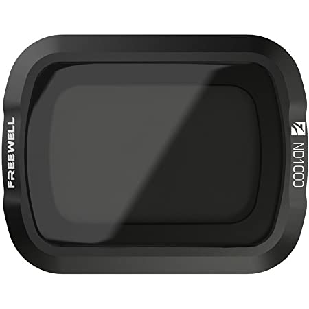 Freewell ND1000 Long Exposure Photography Camera Lens Filters Compatible with Osmo Pocket, Pocket 2