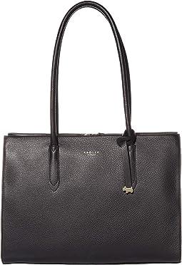 Arlington Court - Large Zip Top Shoulder Bag