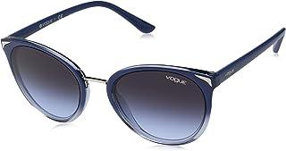 Vogue Kadın Güneş Gözlükleri 0VO 5230S 26414Q 54, TOP BLUEE GRADIENT TRANSP AZURE\LIGHTVIOLETGRADDARKGREY,