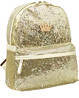 Mini Bling Sequin Backpack Sparkly Paillette Glitter School Backpack Shoulder Handbags