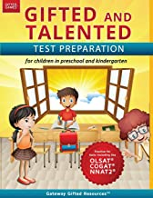 Download Gifted and Talented Test Preparation: Gifted test prep book for the OLSAT, NNAT2, and COGAT; Workbook for children in preschool and kindergarten (Gifted Games) PDF