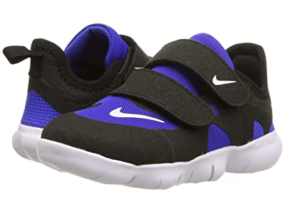 Nike Kids Free RN 5.0 (Infant/Toddler) (Racer Blue/Black/White) Kids Shoes