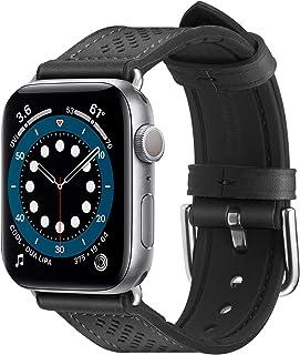 Spigen Retro Fit pasek do zegarka Apple Watch do serii 40 mm / 38 mm, kolor czarny