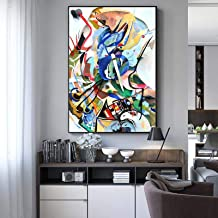 Wall Pictures Wassily Kandinsky Abstract Canvas Art Paintings Posters And Prints Famous Artwork Reproductions Home Decorat...