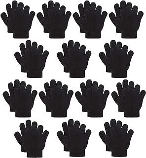 Kids Warm Magic Gloves,14 Pairs Boys Girls Winter...