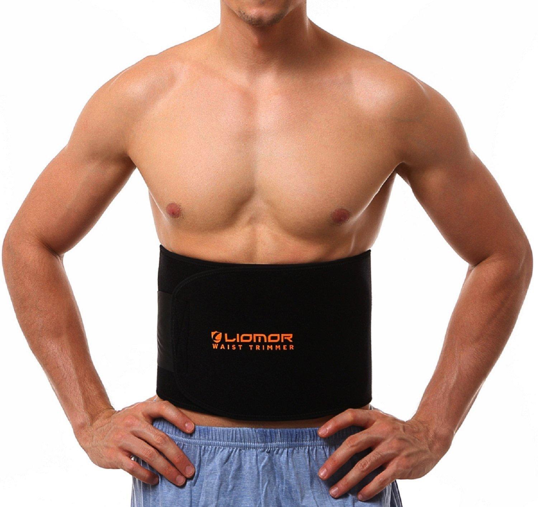 Women Men Waist Trimmer Sweat Shaper AB Belt Promotes Weight Loss Burn Calories