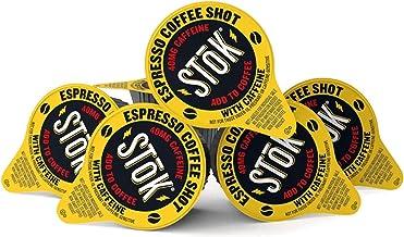 100 SToK Caffeinated Unsweetened Black Coffee Shots.