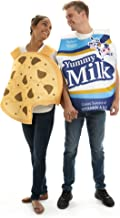 Milk and Cookie Couple's Costume, One-Size - Funny Adult Food Halloween Costumes