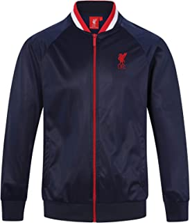 48540f7070e4 Liverpool FC Official Football Gift Mens Retro Track Top Jacket