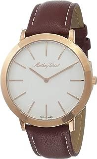 Mathey-Tissot Analog White Dial Mens Watch - H7915PI