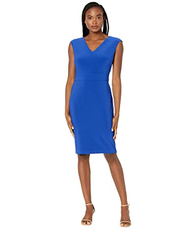 LAUREN Ralph Lauren Jannette Cap Sleeve Day Dress Women