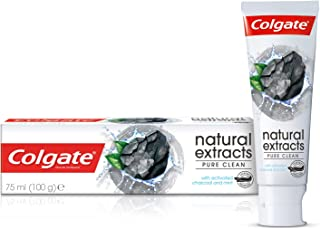 Colgate Tpaste Naturals Charcoal, 75 ml