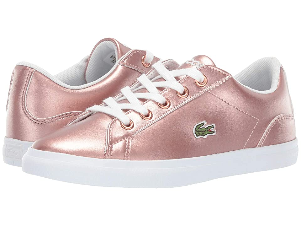 Lacoste Kids Lerond 119 4 CUC (Little Kid) (Pink/White) Girl