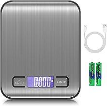 AMIR Brifit Balance de Précision, 5KG/1g Balance de Cuisine electronique, Balance de Poche avec Chargement USB, avec Écran...