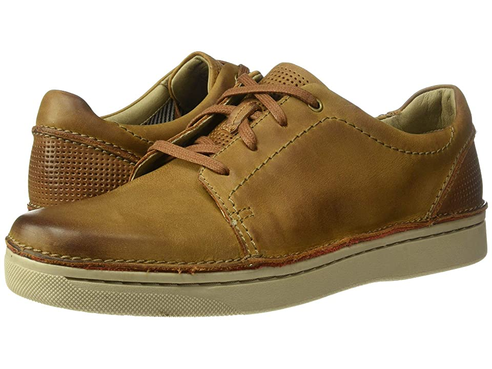 Clarks Kitna Stride (Tan Leather) Men