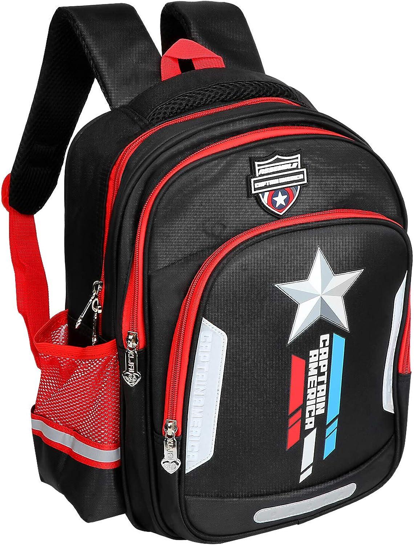Toddler bookbags school bags kindergarten kids preschool backpack for boys 3-6Y elementary school