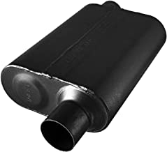 Flowmaster 8042543 40 Series Muffler 409S - 2.50 Offset IN / 2.50 Offset OUT - Aggressive Sound