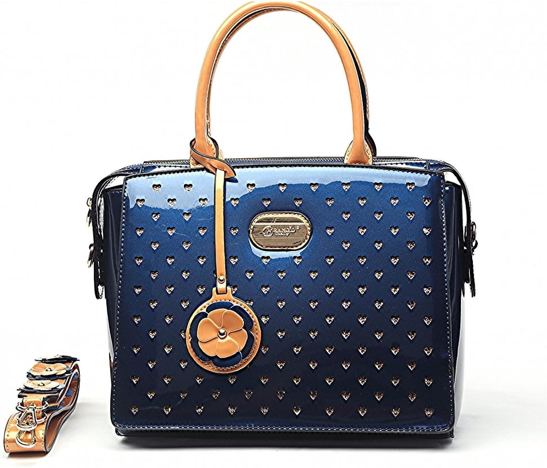 Verona H & L New Women's Starz Art Retro Vegan Leather Handbag