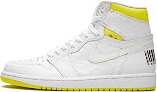 Jordan Air 1 (White/Yellow 10.5)
