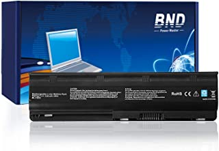BND 5200mAh Battery Compatible with HP MU06 593553-001 G62 G32 G42 G42T G56 G72 G4 G6 G6T G7, Compaq Presario CQ32 CQ42 CQ43 CQ56 CQ62-24 Months Warranty [Li-ion 6-Cell]