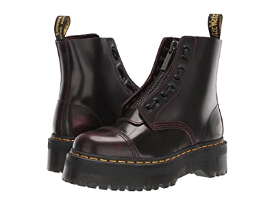 Dr. Martens Sinclair Quad Retro (Cherry Red Arcadia) Women