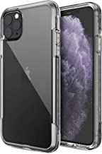 Defense Air, iPhone 11 Pro Max Case - Military Grade Drop Tested, Anodized Aluminum, TPU, and Polycarbonate Protective Case for Apple iPhone 11 Pro Max, (Clear)