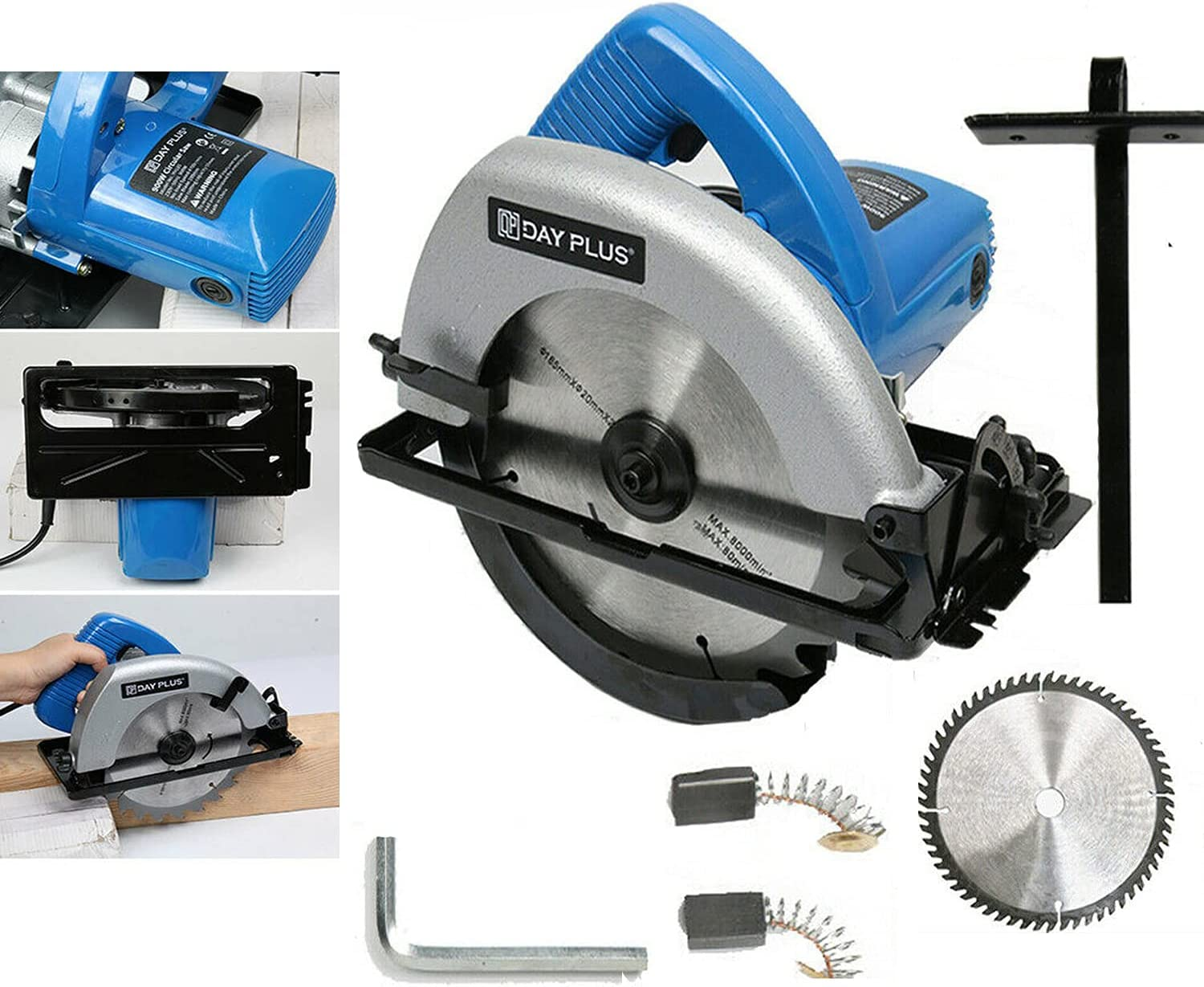Circular Saw Double Safety Tool 900W Electric Power Daily Low price bargain sale