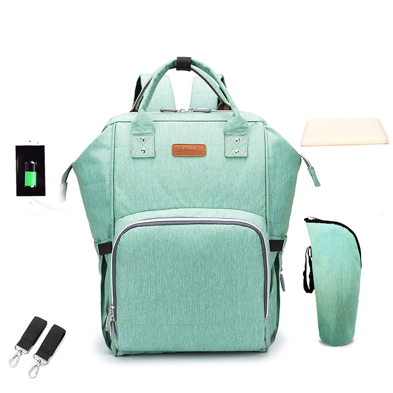 Fashion Maternity Waterproof Diaper Spasm price Bag Baby Finally resale start Large Capa Backpack