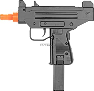 BBTac BT-M33 Compact 10-Inch SMG 230 FPS Spring Concealable Airsoft Gun with 22 Round Clip/Magazine